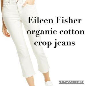 Eileen Fisher Organic Cotton jeans